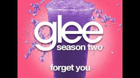Glee - Forget You (LYRICS)