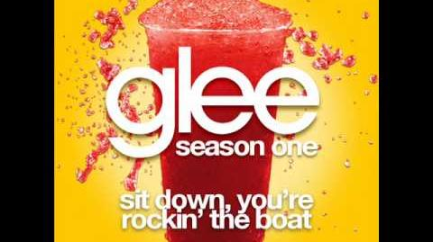 Glee - Sit Down You're Rocking The Boat (Full Unreleased Studio)