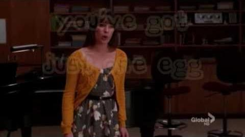 Glee only child lyrics