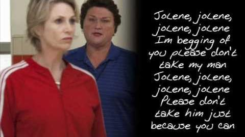 Glee - Jolene (With Lyrics)