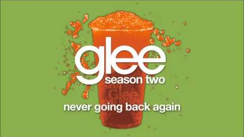 Never Going Back Again Glee HD FULL STUDIO