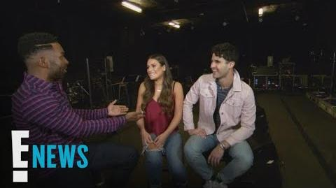Sneak Peek Lea Michele & Darren Criss Interview E! News