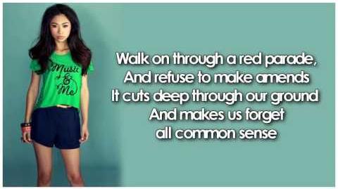 Glee - Clarity (Lyrics)-1