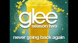 Glee - Never Going Back Again (DOWNLOAD MP3 + LYRICS)