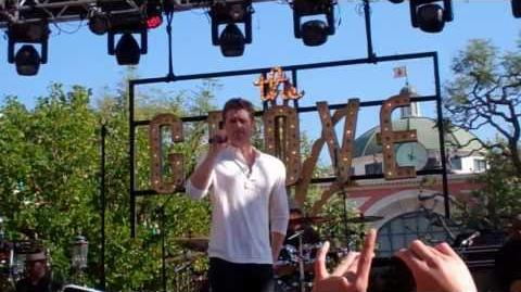 """""""Don't Stand So Close To Me Young Girl"""" Matthew Morrison - The Grove 1 29 11-0"""