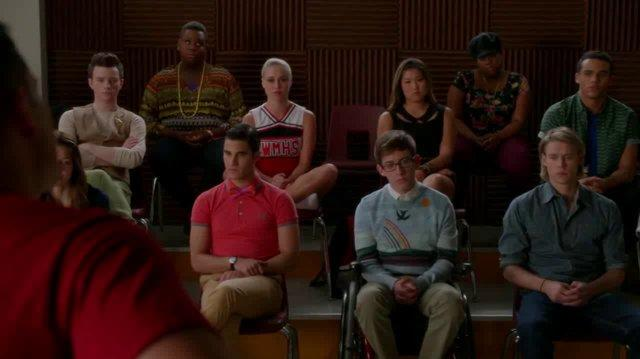 Full Performance of 'No Surrender' from 'The Quarterback' GLEE