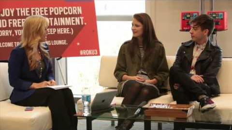 Exclusive SxSW interview with GLEE's Kevin McHale and Melissa Benoist (Part 1)