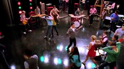 Glee - Superstitious (Full Performance)