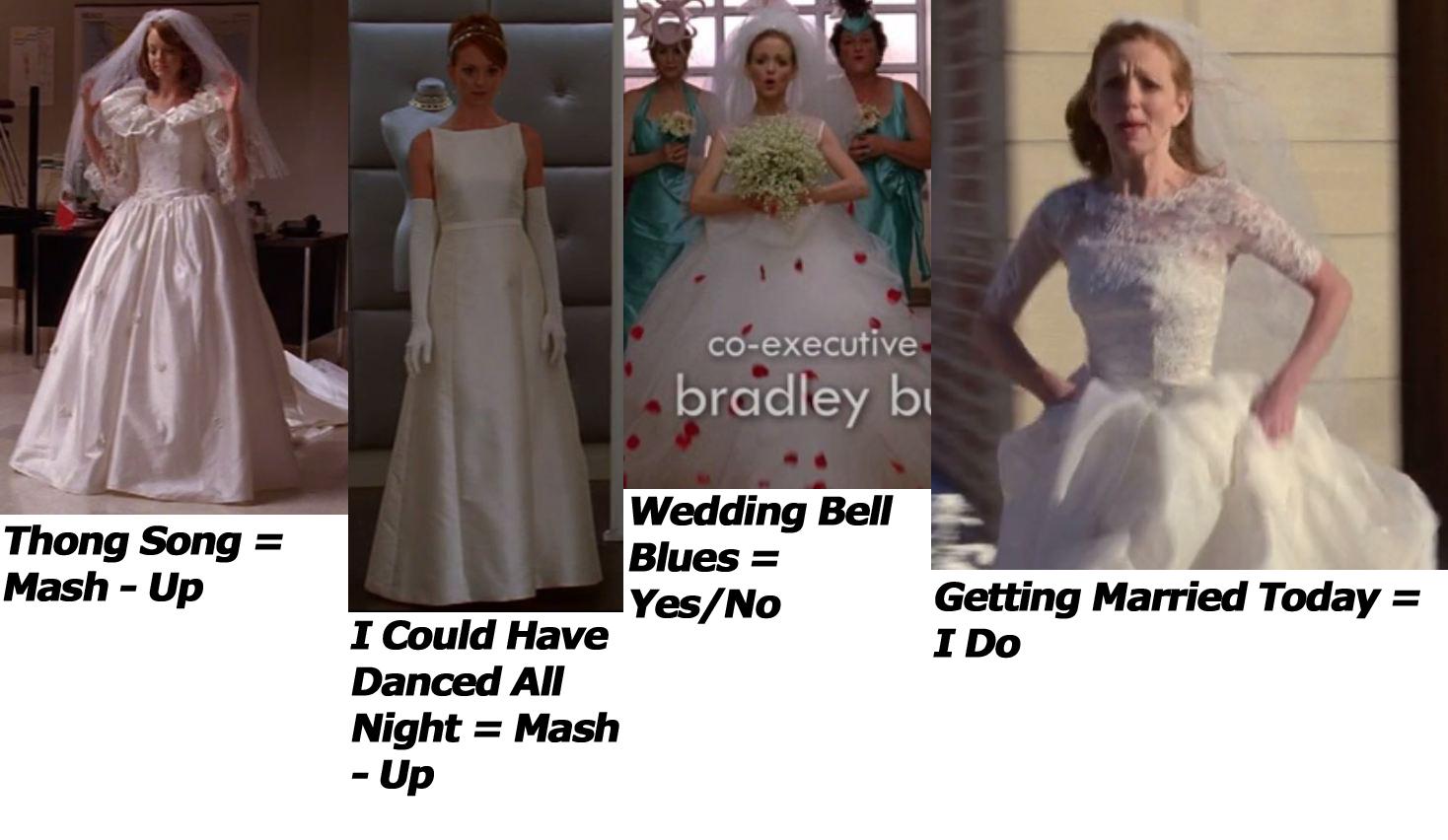Image - Emma\'s Wedding Dresses.jpeg | Glee TV Show Wiki | FANDOM ...