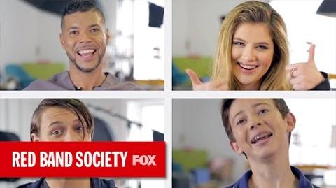 """Be Okay"" Music Video Cover RED BAND SOCIETY FOX BROADCASTING"