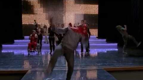GLEE - Wanna Be Startin' Somethin' (Full Performance) (Official Music Video) HD