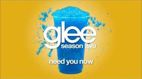 Need You Now Glee HD FULL STUDIO