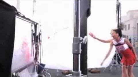 Behind The Scenes - Glee Slushy Photoshoot