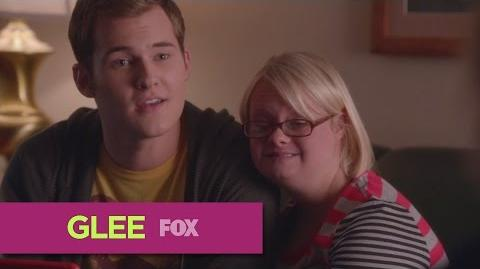 "GLEE - Becky Introduces Her New Boyfriend to Sue from ""Jagged Little Tapestry"""