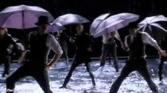 GLEE - Singing In The Rain Umbrella (Full Performance) (Official Music Video)-0