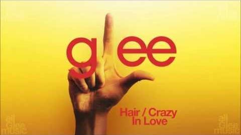Hair Crazy In Love Glee HD FULL STUDIO