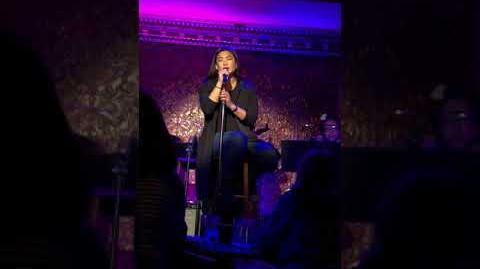 """Jenna Ushkowitz singing Sara Bareilles' """"Gravity"""" at 54 Below"""