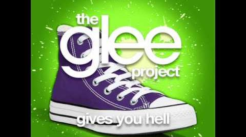 The Glee Project - Gives You Hell (LYRICS)