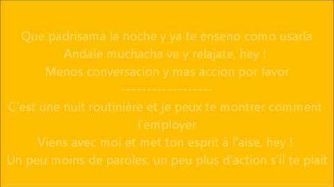 Glee - A little less conversation Paroles & Traduction-0