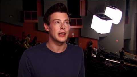 """GLEE - Behind the Scenes """"Michael"""""""