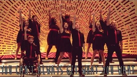 "GLEE - Full Performance of ""You Can't Always Get What You Want"""