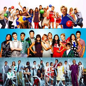 Glee castt