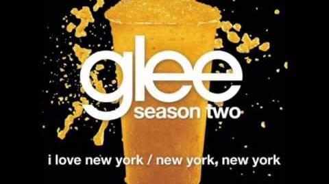 Glee - I Love New York New York, New York (lyrics)