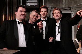 Vem är Quinn dating på Glee