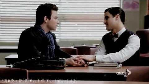KLAINE You're the one I'm gonna marry