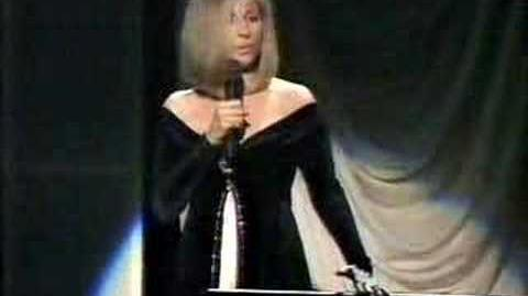 Barbra Streisand - As If We Never Said Goodbye (live)