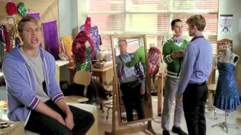 GLEE - Behind the Scenes- -Makeover