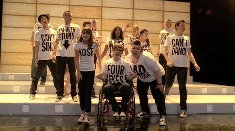 GLEE - Born This Way (Full Performance) HD