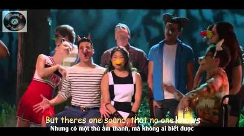 "Lyrics Vietsub GLEE - Full Performance of ""The Fox"" (What Does The Fox Say) from Puppet Master"