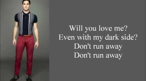 My Dark Side Glee Lyrics