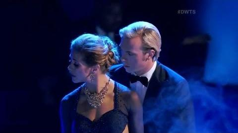 "Riker Lynch & Allison Holker ""Viennese Waltz"" Dancing with the Stars Season 20 Week 8"