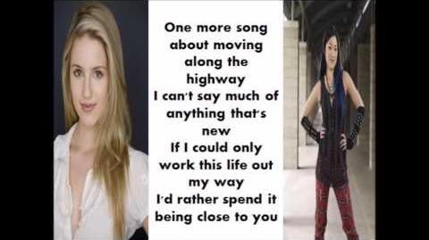 So far away - Glee (lyrics)