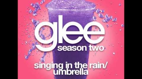 Glee - Singing In The Rain Umbrella (DOWNLOAD MP3 LYRICS)