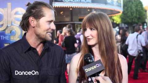 Glee Choreographers Zach Woodlee & Brooke Lipton - 3D Concert Movie Premiere