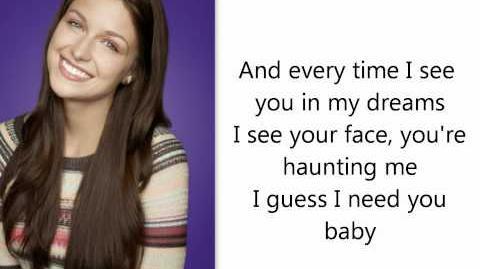 Glee-Everytime (Lyrics)