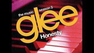 Glee - Honesty (HQ FULL STUDIO)-1