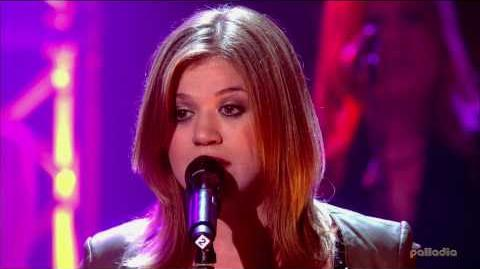Kelly Clarkson - Cry - Live HD! OMGZ!