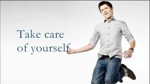 Glee - Take Care of Yourself Video Lyrics