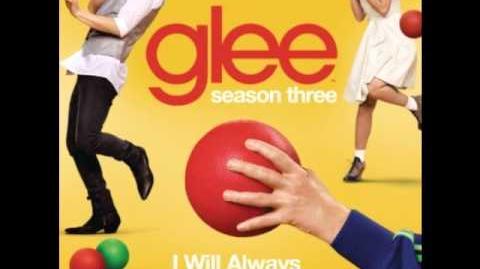 Glee - I Will Always Love You Heart