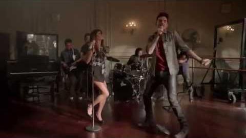 Glee (ft Adam Lambert) - Barracuda 1080 HD