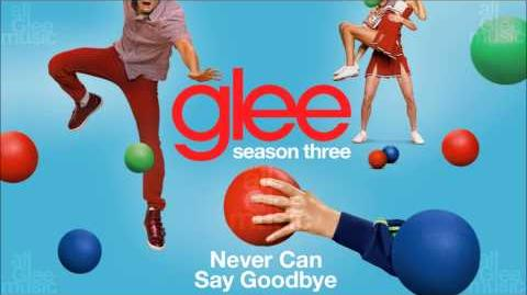 Never Can Say Goodbye Glee-0