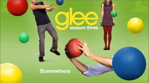 Somewhere Glee HD FULL STUDIO