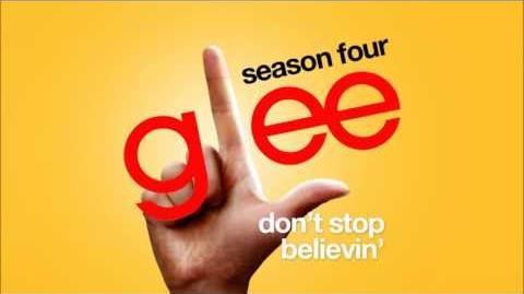 Don't Stop Believin' (Rachel's Audition) - Glee Cast HD FULL STUDIO