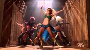 "GLEE - Brittany as Britney Spears - I'm a Slave 4 U - S02E02 ""Britney Brittany"" HD"