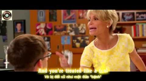 "Lyrics Vietsub GLEE - Raise Your Glass from ""100"" Episode"