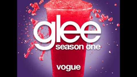 Glee - Vogue LYRICS-0